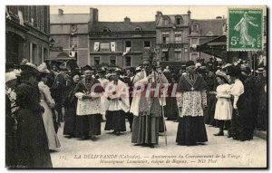 Old Postcard The Delivrande Anniversary of the Coronation of the Virgin Monsi...