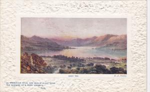 TUCK # 9710 , Scottish Lochs Series , Scotland, 00-10s ; Loch Tay
