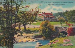 South Dakota Black Hill The State Game Lodge Hotel Custer State Park
