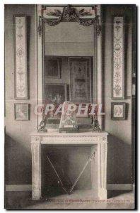 Old Postcard Pendulum and candelabra Museum of Decorative ARts