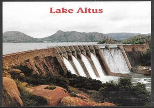 Oklahoma, Lake Altus Dam, unused