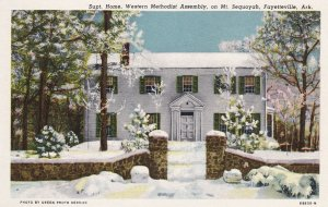 FAYETTEVILLE, Arkansas, 1930-40s; Supt. Home, Western Methodist Assembly