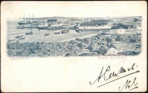 yemen, PERIM ISLAND, Harbour Scene (1904)