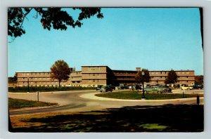 Lafayette IN- Indiana, Purdue University, College, Chrome Postcard