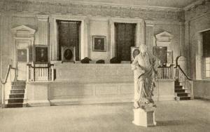 PA - Philadelphia. Independence Hall, Supreme Court Room