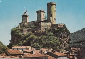 BF25538 foix ariege le chateau  france front/back image