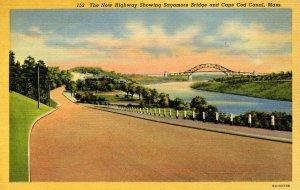 MA - Cape Cod. Sagamore Bridge & Cape Cod Canal