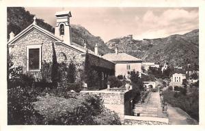 Italy Old Vintage Antique Post Card St Georges Church Taormina Unused