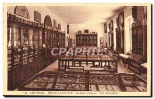 Tunisia Carthage Postcard Ancient Muse Lavigerie The Punic view room d & # 39...