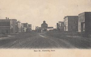 ALAMEDA, Saskatchewan, Canada, 00-10s; Main Street (Dirt)