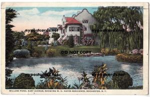 Willow Pond, East Ave, W.D. Hayes Res, Rochester NY