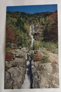 Postcard Silver Cascade Crawford Notch 1988 New Hampshire White Mountains 2026