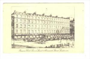 Brown's Hotel, Dover Street & Albemarle Street, London, England , UK , PU-1949
