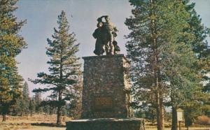 California Donner Monument Near Donner Lake