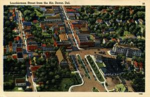 DE - Dover. Lookerman Street, Aerial View