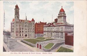 Nebraska Omaha City Hall Bee Building & Court House