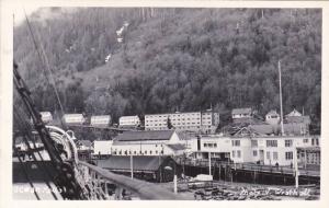 RP, Partial Scene, Ocean Falls, British Columbia, Canada, 1930-1950s