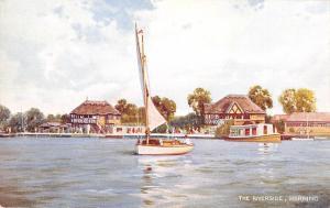 BR70086 the riverside  horning ship bateaux postcard   uk