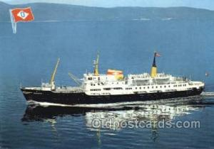MS Nordnorge Enlarged Continental Size Ship, Ships, OceanLiner Postcard Postc...