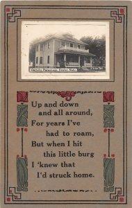 F97/ Exeter Nebraska RPPC Postcard c1910  Catholic Parsonage 13