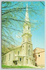 Galena Illinois~First Presbyterian Church~Built 1838~1970s Postcard