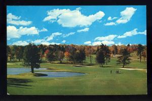 Kiamesha Lake, New York/NY Postcard, The Concord Hotel/Resort, Golfing