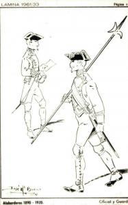 Military Alabarderos 1890 1920 Guardian 02.15
