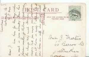 Family History Postcard - Martin - Barrow Road - Streatham - London - Ref 1889A