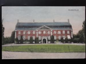 Denmark: SVANHOLM HOUSE / HALL - Old UB Postcard by C.St Eneret 2787