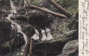 New York In The Glen At Moosic Lake 1907