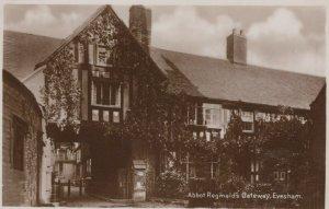Worcestershire Postcard - Abbot Reginald's Gateway, Evesham    RS24656
