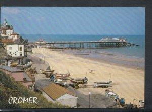 Norfolk Postcard - East Beach and Pier, Cromer    T9375