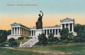 Munchen, Germany - Munich - Bavaria Und Ruhmeshalle - Hall of Fame - DB