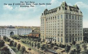 WINNIPEG , Manitoba , Canada , 1910s ; Fort Garry Hotel