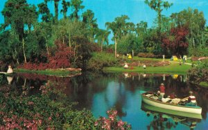 USA Florida's Cypress Gardens America's Tropical Wonderland Lake Eloise 03.78
