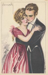 BINOCHI ; Art Deco Romace Couple  , 1910s #1