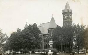 WI - Monroe, Court House     RPPC