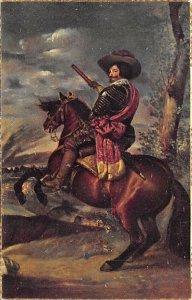 Museo del Prado, Cuadro El Conde-Duque de Olivares Postcard Unused