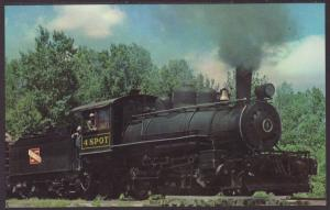Lumberjack Special,Laona & Northern Railway Postcard