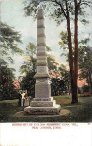 Monument of the 21st regiment CT Vol., New London, Connecticut