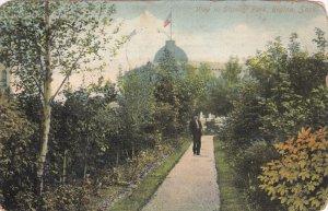 REGINA, Saskatchewan, Canada, PU-1908; View In Stanley Park