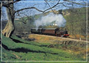 Postcard K & WVR Vintage Set Bellerophon Keighley Worth Valley Railway No.C15637