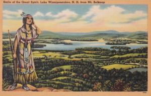 New Hampshire Lake Winnipesaukee Smile Of The Great Spirit