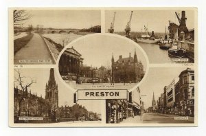 TUCK, 1900-10s; PRESTON, England, 5-Views