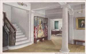New York Newburgh Entrance Hall State Museum Washington's Headquarters Detroi...