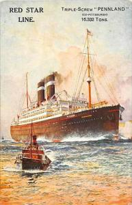 5937   S.S. Pennland,  Red Star Line