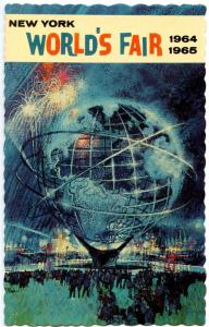 NY - New York World's Fair 1964-65. Unisphere