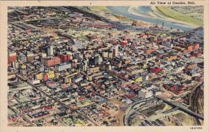 Air View Of Omaha Nebraska