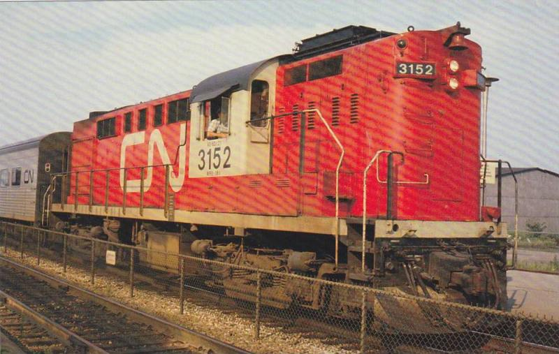 ALCO Look-Alike, Montreal Locomotive Works, Canadian National RS18 #3152, Mon...