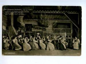 174954 WAGNER Flying Dutchman OPERA Stage Vintage photo PC#1